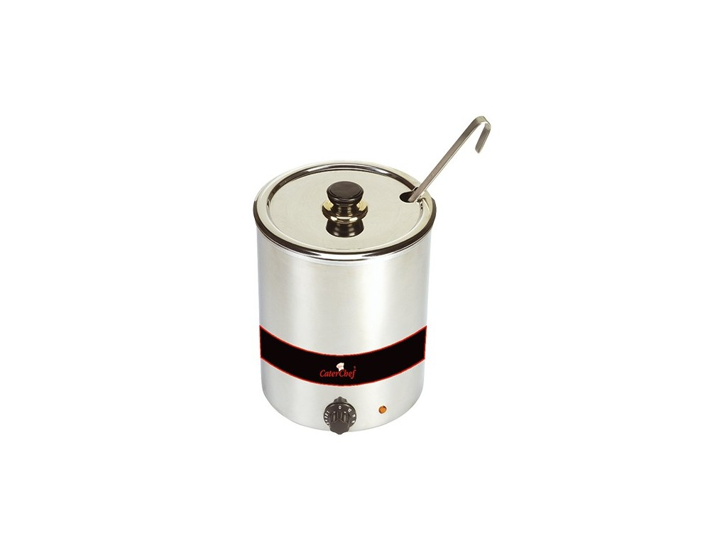Caterchef soepketel chroom 5.7 liter