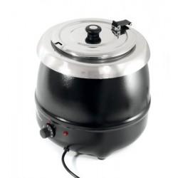 Soepketel zwart 8 liter