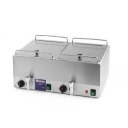 Worstenwarmer Kitchen Line 2x10 liter