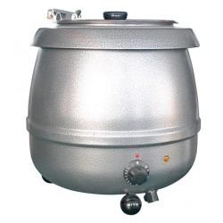 Soepketel Bistro 10 liter rustiek grijs