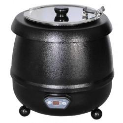 Soepketel met digitale thermostaat Bistro zwart 10 liter